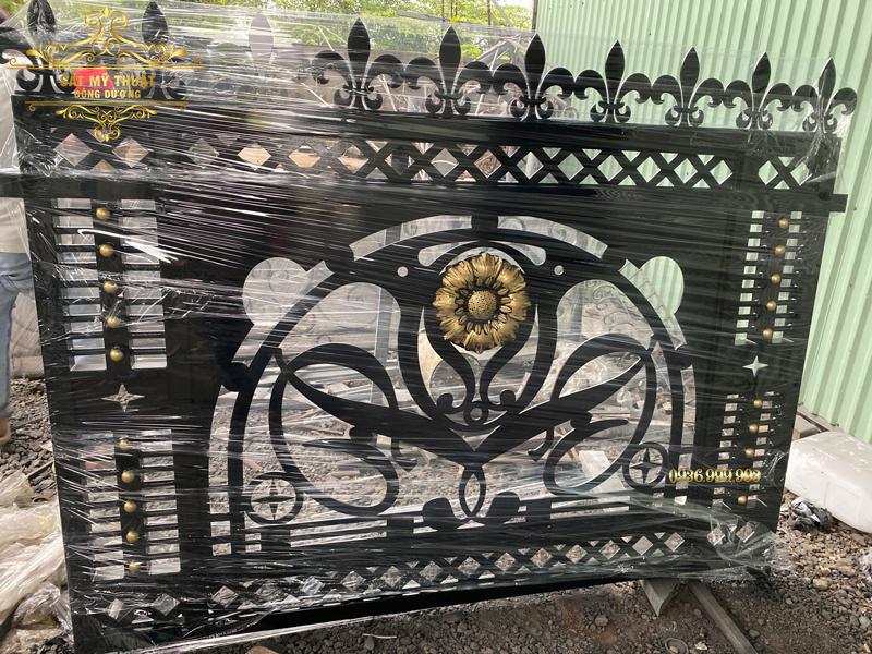 Hàng rào sắt mỹ thuật – HR19012