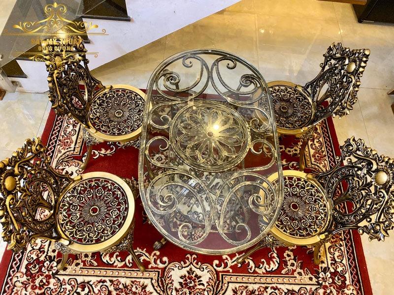 Bàn ghế sắt nghệ thuật Đà Nẵng